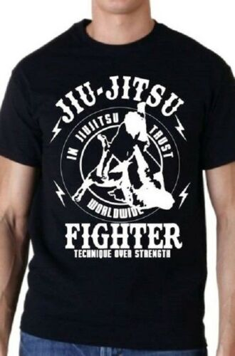 Brazilian Jiu-Jitsu Gracie Fighter T shirt UFC MMA Pride Fighting Fight