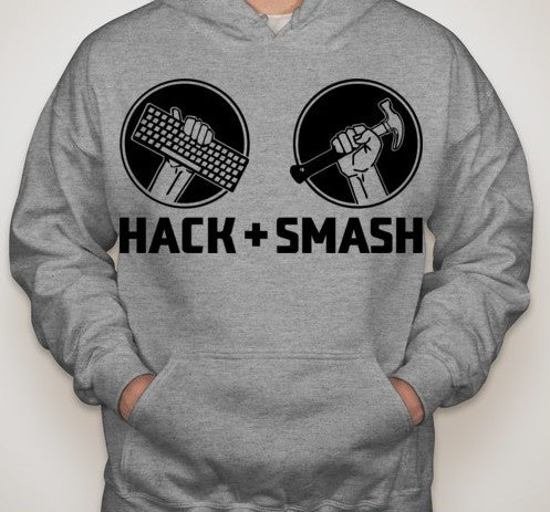 Hack and Smash Hoodie