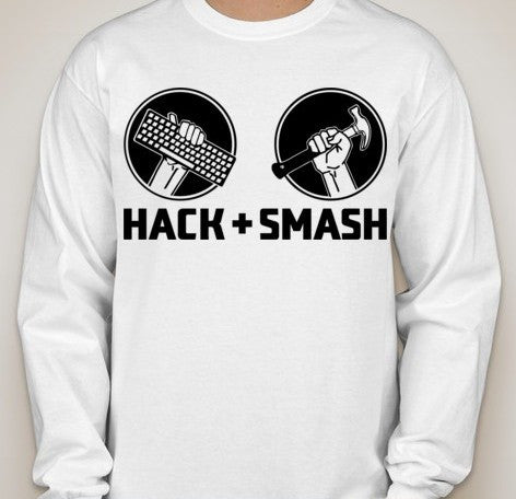 Hack and Smash Long Sleeve T-shirt
