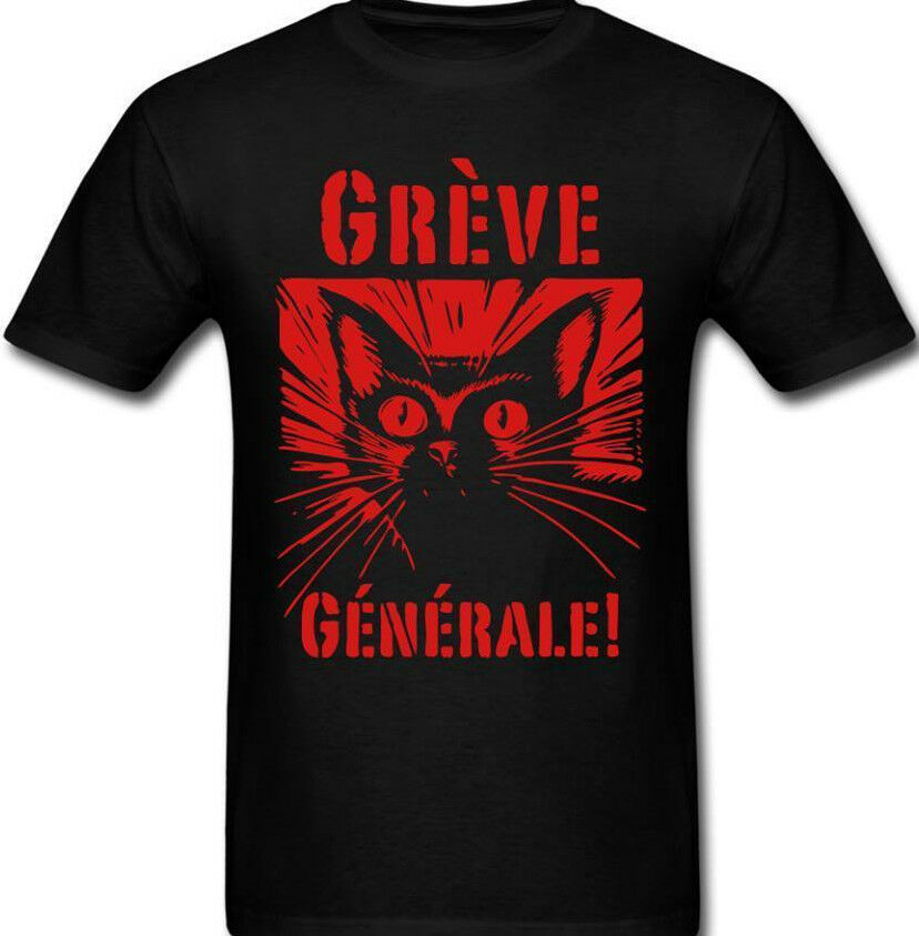 Industrial Workers Of The World Solidarity Union Greve Cat IWW T shirt Tee
