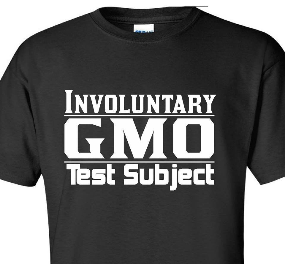Involuntary GMO Test Subject Monsanto T-shirt