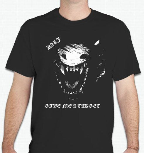 Kali Linux Dragon Pentest Give Me A Target T-shirt