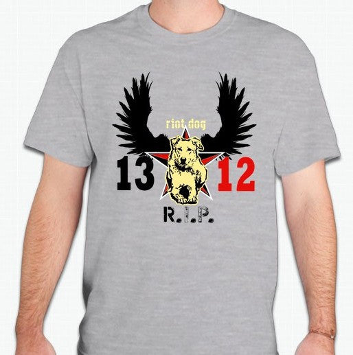 Loukanikos Greek Riot Dog RIP T-shirt