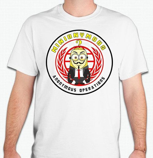 Minionymous Anonymous Operations Minion T-shirt |  My Anon Store