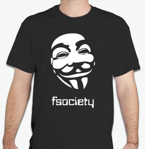 Mr Robot TV Show Fsociety Anonymous T-shirt