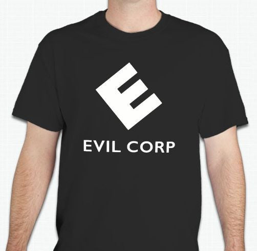 Mr Robot Evil Corp TV Show T-shirt
