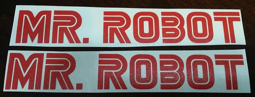 Mr Robot TV Show Logo | Die Cut Vinyl Sticker Decal