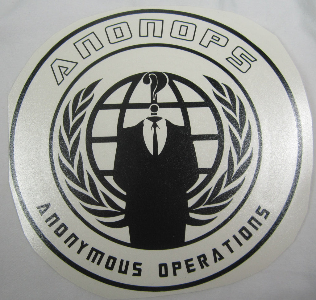 AnonOps Anonymous Operations | Die Cut Vinyl Sticker Decal