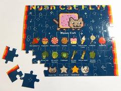 Nyan Cat Yummies And Veggies Puzzle