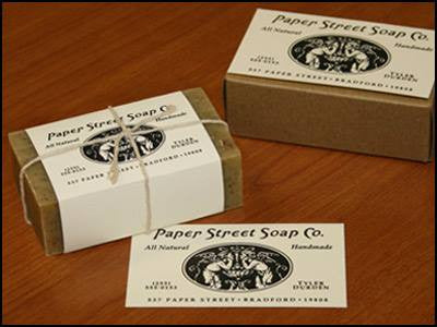 Paper Street Soap Bar Natural Handmade Tyler Durden Fight Club