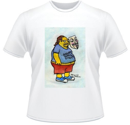Simpsons Anonymous Comic Book Guy T-shirt | Dan Bellini Art