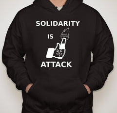 #ShutItDown Anonymous Solidarity Is Attack Facebook Molotov Like Hoodie