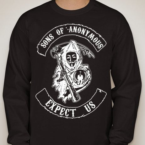 Sons Of Anonymous Reaper With Scythe Long Sleeve T-shirt