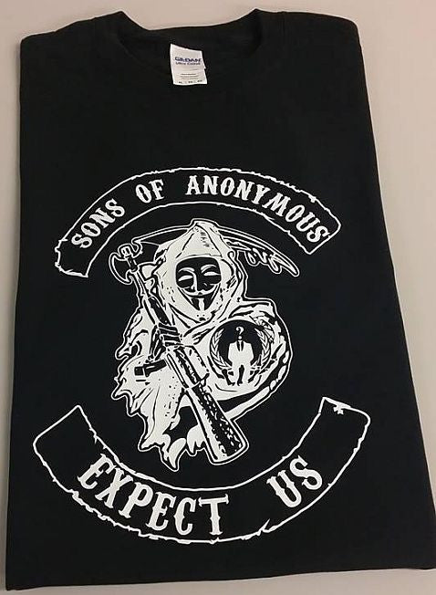 Sons Of Anonymous Reaper With Scythe T-shirt