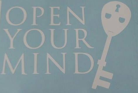 Steve Grant Open Your Mind | Die Cut Vinyl Sticker Decal