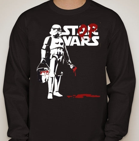 Star Wars Stop Wars Stormtrooper Graffity Long Sleeve T-shirt