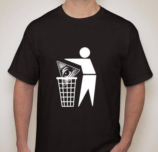 Trash The Illuminati T-shirt