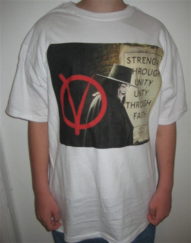 Anonymous V for Vandetta | Strength Through Unity T-shirt