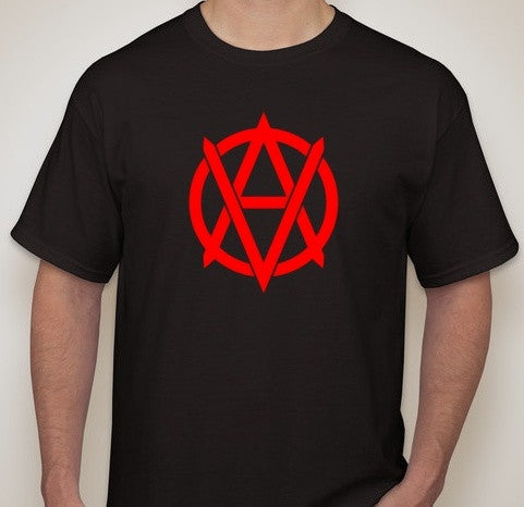 Vegan Anarchist Logo T-shirt