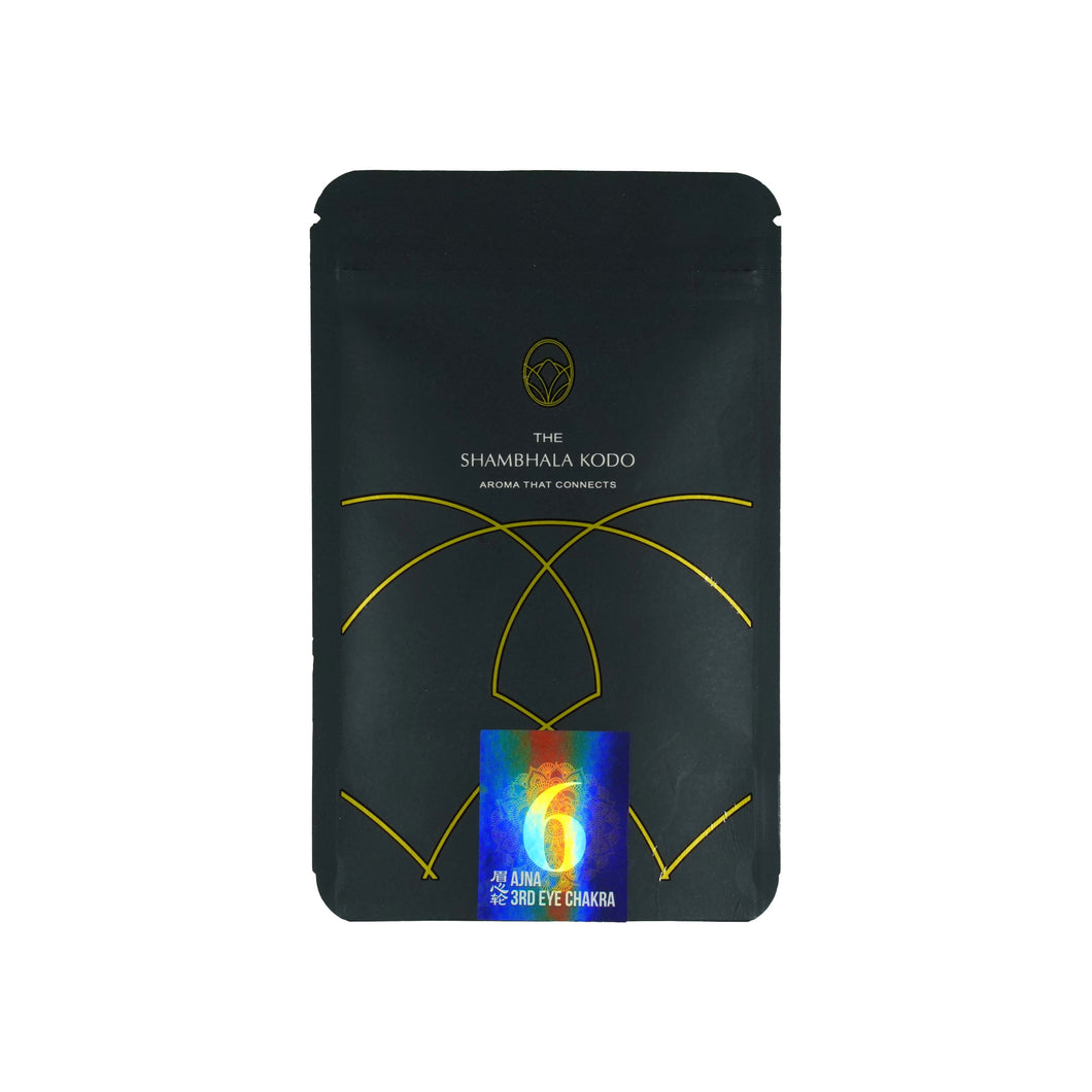 3rd Eye Chakra Aromatic Incense Powder (Ajna)