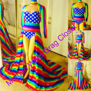 GAY PRIDE DANCE COSTUME