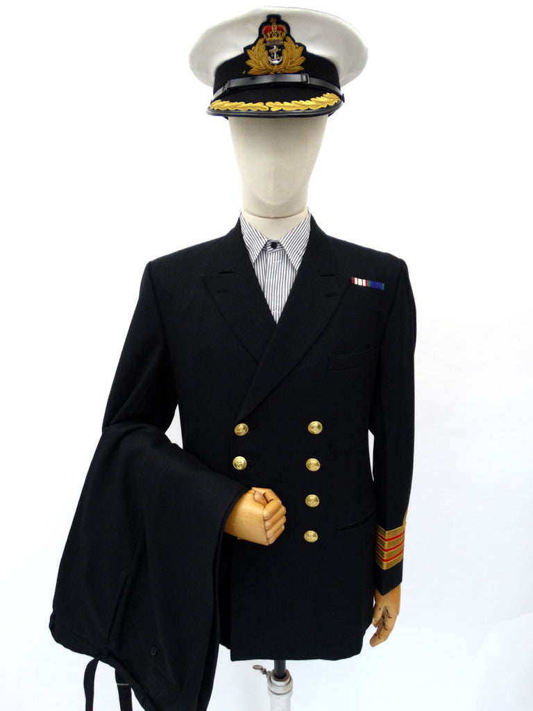 VINTAGE 1960s NAVY UNIFORM 40 REG W35-36