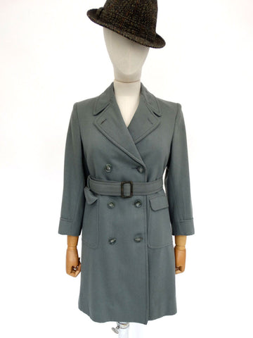 VINTAGE 1940s MARMAIR WOOL COAT 6