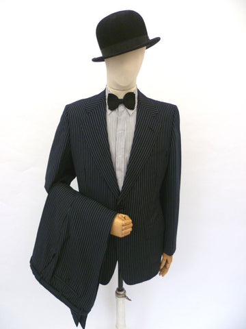 VINTAGE 1970s HAWKES & CO SUIT 41 LONG W35