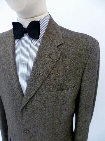 VINTAGE 1950s HARRODS SUIT 40 LONG W35