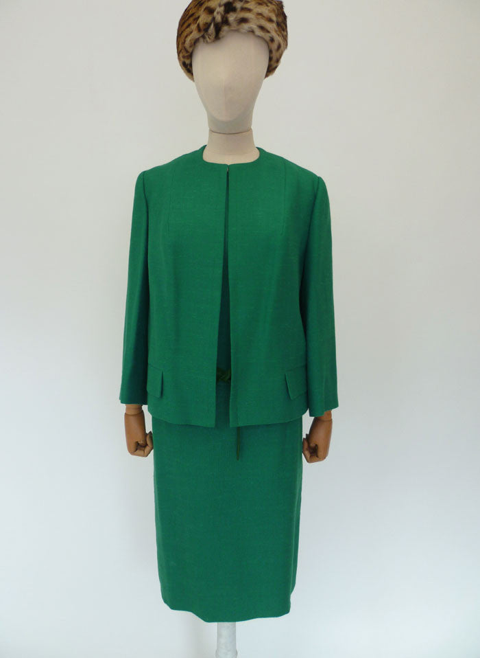 VINTAGE 1960s LESLIE GORDON DRESS SUIT 16