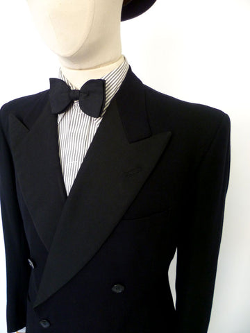 vtg 1949 dated DINNER SUIT 41 SHORT W35