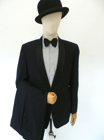 VINTAGE 1950s LIBERTY DINNER SUIT 42 LONG W35