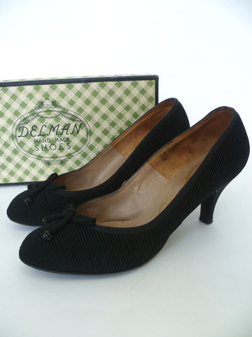 VINTAGE 1950s DELMAN HARRODS SHOES 7