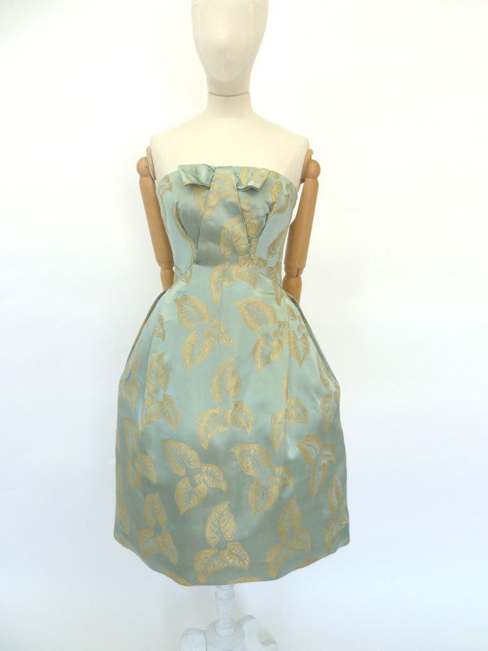 VINTAGE 1950s ROBERT DORLAND DRESS 8