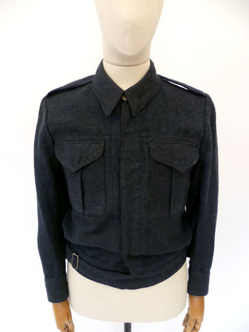 VINTAGE 1942-dated BOMBER JACKET 37-38