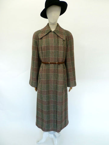 VINTAGE 40s 50s RODEX CAPE COAT 12 14