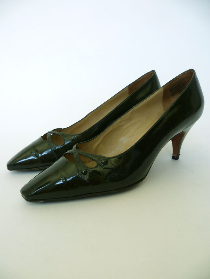 VINTAGE 1950s 1960s CHRISTIAN DIOR SHOES 7.5