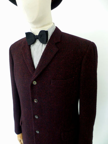 VINTAGE 1960s HARRIS TWEED BLAZER 44 REG