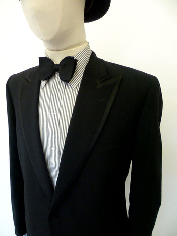 VINTAGE 1960s BRILL OF LEEDS DINNER SUIT 42 SHORT W35-36
