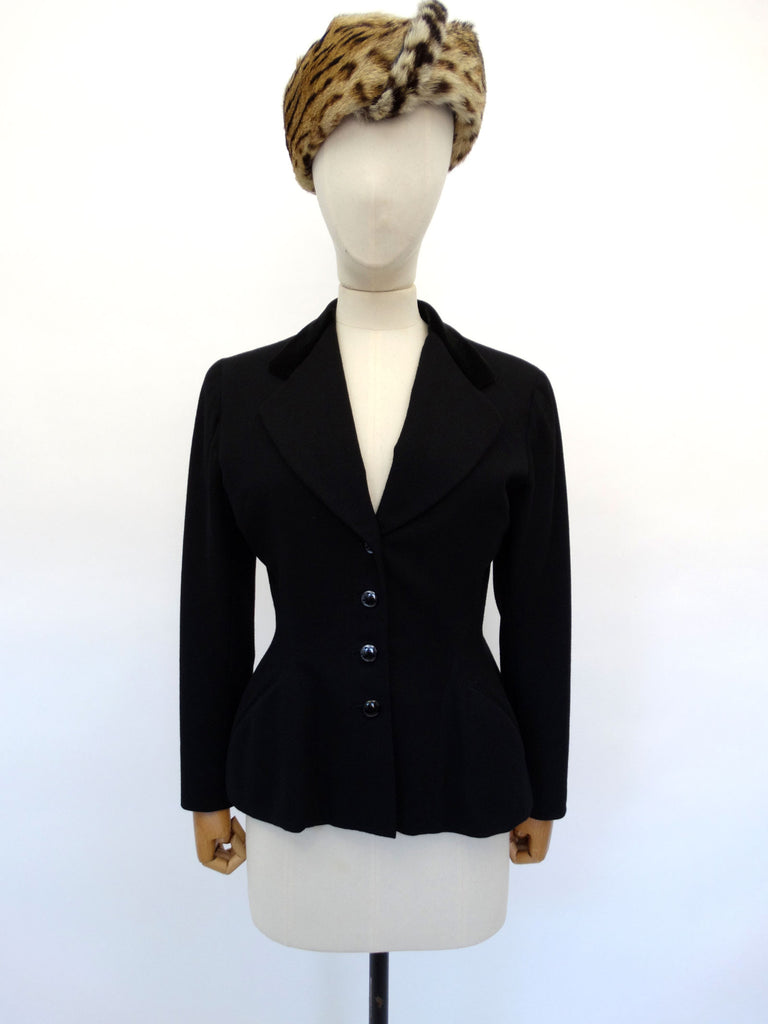 VINTAGE 1950s WOOL RIDING JACKET 10