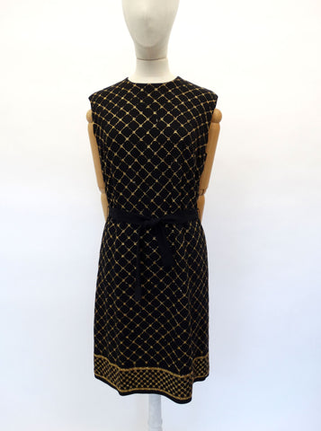 VINTAGE 1950s BLANES SHIFT DRESS 12