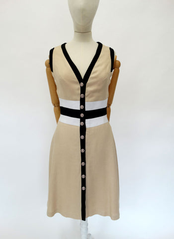 VINTAGE 1960s LOUIS FERAUD DRESS 10