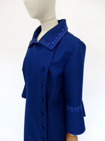 VINTAGE 1960s PEGGY FRENCH COAT 18