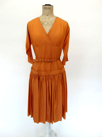 VINTAGE 1950s PEGGY PAGE DRESS 12
