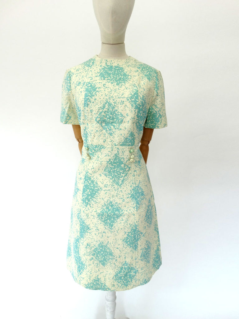 VINTAGE 1960s CRESTA SCOOTER DRESS 12