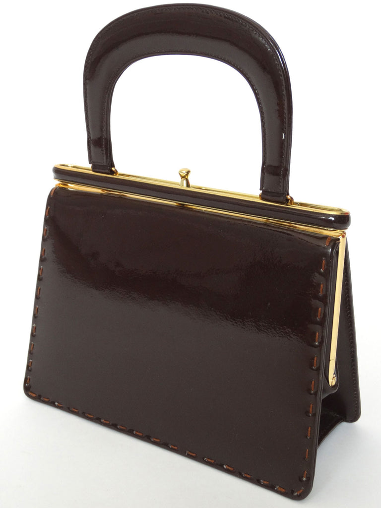 VINTAGE 1960s WIDEGATE KELLY HANDBAG