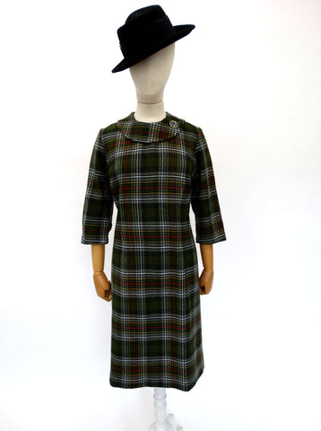 VINTAGE 1960s LAMMERMUIR DAY DRESS 14