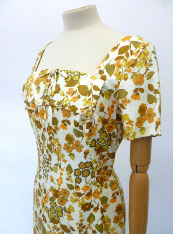 VINTAGE 1960s MARCEL FENEZ DRESS 10