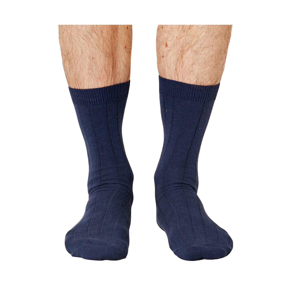 Thought Herren Hanf Socken navy