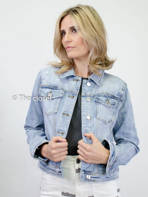 Cazadora denim